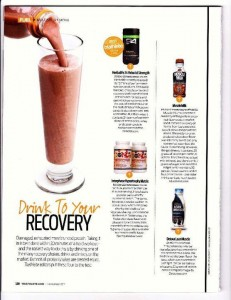 Review of Recovery Drinks